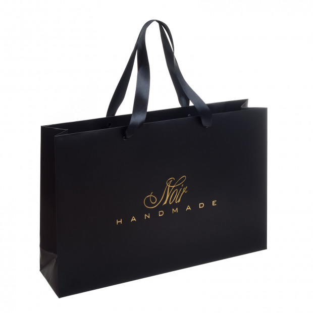 Bag with Noir Logo (matt)