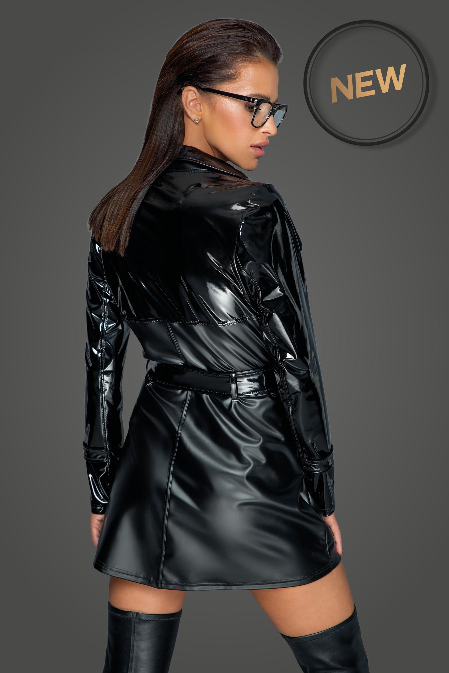 F225 Trendy trench coat