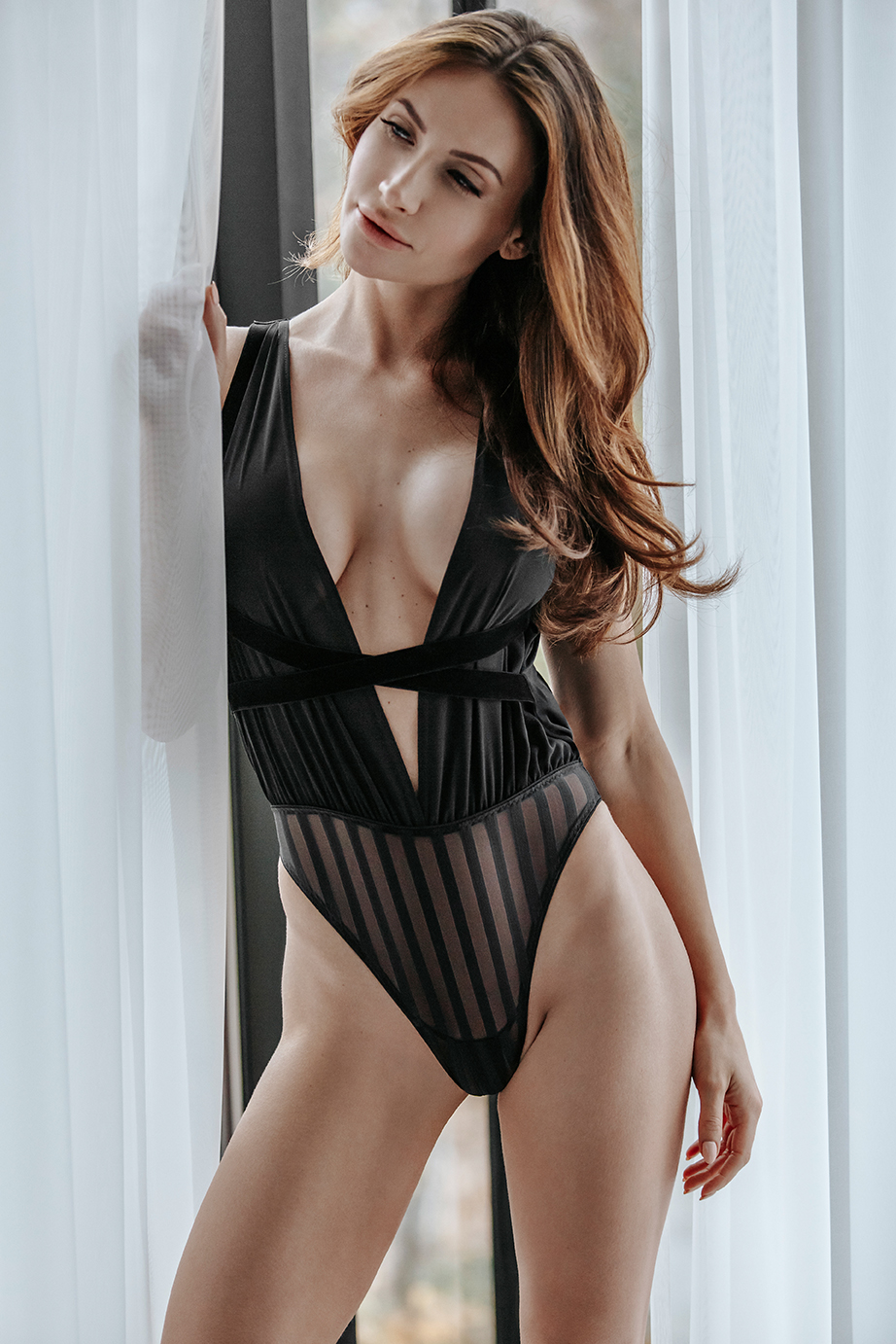 161618 Tulle Body Ouvert