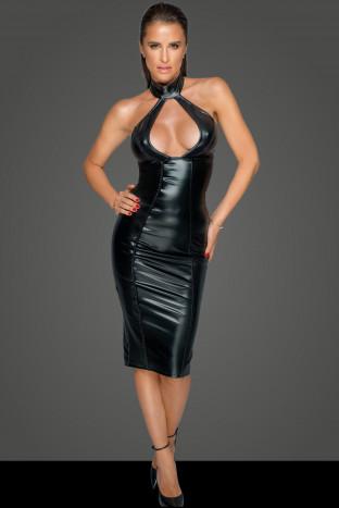 F231 Kleid mit wahnsinns Dekolleté