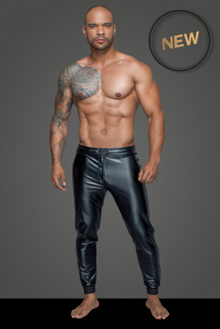 H063 Treggings aus Powerwetlook